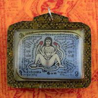 Amuleto Tailandese Paul Khik IN Koo Mae Eper Kruba Kampeng Fortuna Amour 2165