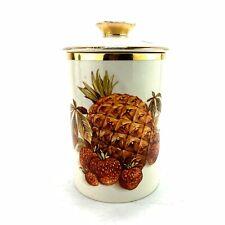 Vintage Crown Devon Fieldings Pineapple Ceramic Storage Pot