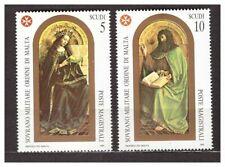 s31391) SMOM 1989 MNH**  S. Giovanni Battista XI 2v