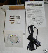 Mastercool 52237 Data Logger CD & USB Cable Used With the Mastercool 52236