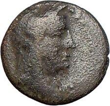 Elaia in Asia Minor 200BC Ancient Greek Coin Demeter Torch HOPE emblem i27780