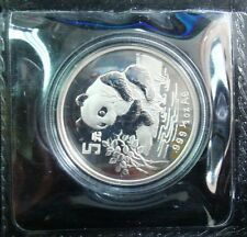 1996 panda 1/2oz silver coin 5yuan original mint sealed  (Shenzhen mint)