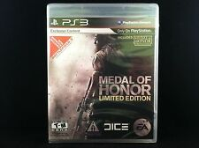 Limited Edition Medal of Honor [Black Label] (PS 3)