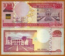 Dominican Republic, 1000 Pesos Dominicanos, 2011,  P-New Monetary Unit, UNC