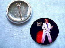 David Bowie-David Live  Badge Mott The Hoople T.Rex Roxy Music Mick Ronson