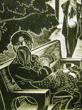 Lynd Ward 1930 MAN GIRL LOVE INFIDELTY TEARS Art Matted