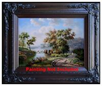Gallery-Wrap Stretching Service for Size 16x24in or18x20in Oil Paintings
