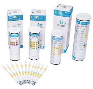 Urine Analysis Reagent Test Strips 14 13 10 5 Parameter Glucose Protein ketone