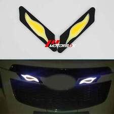 2PCS 12V LED COB DRL Daytime Running Light Fog Driving Car Lamp Turn Waterproof