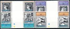 Barbuda Sc. 378-379 + 382 + 385-386 in Gutter Pairs MNH