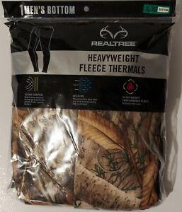 Men's Realtree Edge, XL (40-42), Heavyweight, Performance Fleece, Thermal Pant