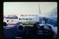 1979 El Al Airlines Boeing 747 Aircraft, Original Slide c14a