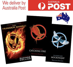 THE HUNGER GAMES SERIES BY SUZANNE COLLINS - BUNDLE OF 3 BOOKS (2012) ADVENTURE