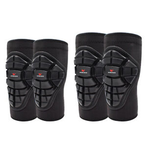 Knee Pads Elbow Pads Kit Premium Protective Gear Set for Scooter BMX Bike