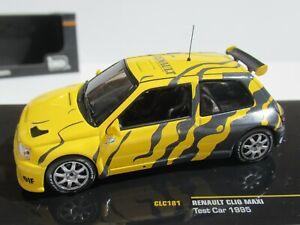 IXO, 1:43 Scale, RENAULT CLIO MAXI RALLY TEST CAR (1995) #CLC181