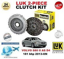 Per VOLVO S80 II come D4 CLUTCH KIT 181 BHP 2013-ON LUK 2 pezzi ** OE Quality **