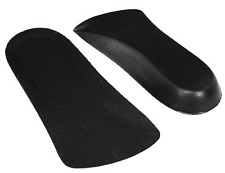 "Men 2 Pairs 1/2 Inches ELEVATOR SHOE Insole for Taller Increase 0.5"" Height Lift"