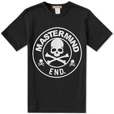 NWT Mastermind Japan x END Clothing Skull Logo Tee Black White M