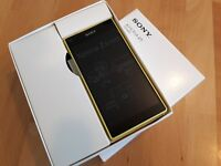 Sony  Xperia Z5 compact - 32GB - in Gelb // ohne Simlock / mit Folie / in Box