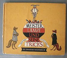 Kinderbuch Meister Lampe und seine Tricks  Diogenes 1971 Geschichte Bilderbuch