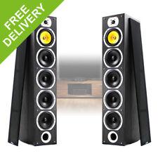2x Fenton Passive Home Audio HiFi Floor Stand Tower Speakers (Pair) 600W Max