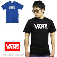 Adult VANS classic logo t-shirt skateboard tee