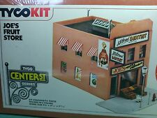 Tyco Joe's Fruit CENTER STREET Store FACTORY SEALED HO Scale Train Building Kit