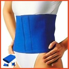 Fat Cellulite Belly Burner Tummy SLIMMING BELT Neoprene Waist Body Wrap Toning