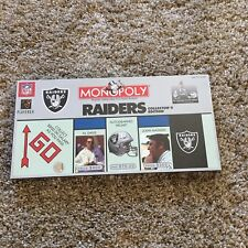 "Monopoly Game Oakland Raiders Collector's Edition NFL ""Rare "" Brand New!!"