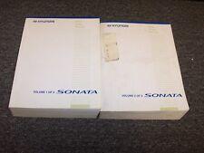 2006 Hyundai Sonata Sedan Shop Service Repair Manual Set GL GLS LX 2.4L 3.3L V6