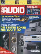 Audio 5/02 Accuphase E-212,T+A CD 1240,Yamaha DSP-AZ1,Cayin CD-12 A,Meridian 588