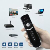 USB 2.4G Wireless Remote Control Fly Air Mouse for Android TV Box Laptop MY