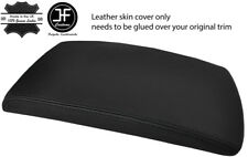 BLACK STITCHING REAL LEATHER ARMREST LID COVER FITS BMW X3 E83 2003-2010