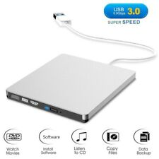 KQ_ FT- USB 3.0 External Drive DVD-ROM CD-RW DVD-RW Burner Player Reader for Lap