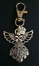 Large Guardian Angel/Protection Keyring Bag Charm. Keepsake/Xmas Gift Idea.