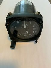"""Falcon Altimeter 3 1/8"""" Panel Mount, Used Working, 20000 Feet"""