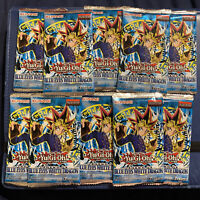 10x YUGIOH LEGEND OF BLUE EYES WHITE DRAGON LOB BOOSTER PACK SEALED