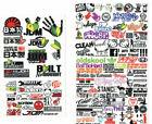 RC 1/10 DRIFT DECALS Logo Sponsors DRIFT Decals Stickers 2 PCS *NEW* #D