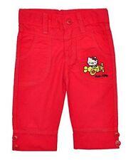 Pantalons rouge pour fille de 4 à 5 ans