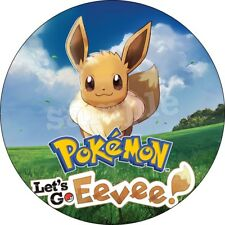 Pokemon Eevee Essbar Tortenaufleger NEU Party Deko Geburtstag Tortenbild dvd