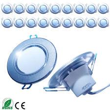 20x 3W LED Decken Einbaustrahler Deckenstrahler Einbau Leuchte Strahler Warmweiß