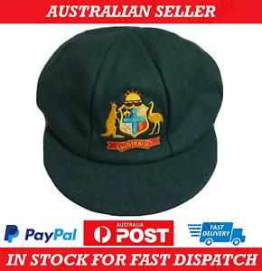 Australia Baggy Green Cricket Cap - AU Stock - ((Hat Bat Ball Bash Sports Game))
