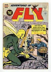 Adventures of the Fly #4 VG 4.0 1960