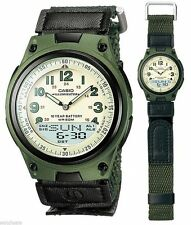 Casio Fabric/Canvas Strap Wristwatches with Chronograph