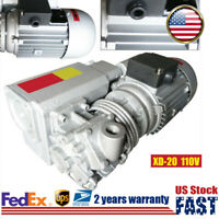 900W Single-stage Rotary Vane Mechanical Vacuum Pump For Industrial Vacuum US