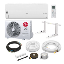 LG Standard S18EQ R32 5 kW Klimaanlage Inverter Wärmepumpe + Montageset