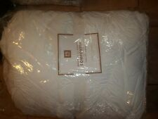 Pottery Barn Teen White Whimsical Waves Comforter Full Queen #623