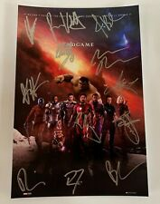 Avengers Endgame cast signed autographed 8x12 inch photo Robert Downey Jr.