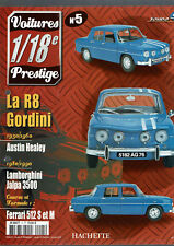 FASCICULE VOITURES PRESTIGE 1/18e SOLIDO  N°5  renault R8 gordini