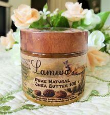 LAMWA 100% Pure Organic Shea Butter Anti-aging Regenerating Skin of Face & Body